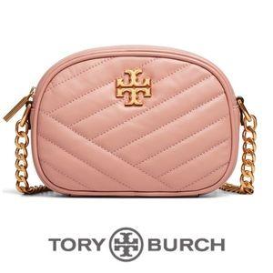 Tory Burch Kira Chevron Camera Bag EUC